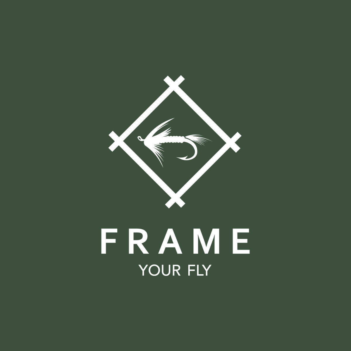 Huisstijl Frame your fly