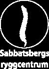 Sabbatsbergs Ryggcentrum -Sjukgymnastik – Naprapati- kiropraktik –  Medicinsk Fotvård i Stockholm Logo