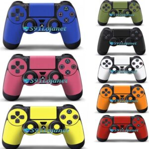 Adesivo Skin Case Capa Ps4 Metal Controle Playstation Cores
