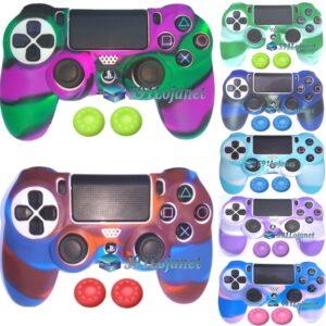 Capa Case Playstation 4 Camo Elite Várias Cores + Grip Cores
