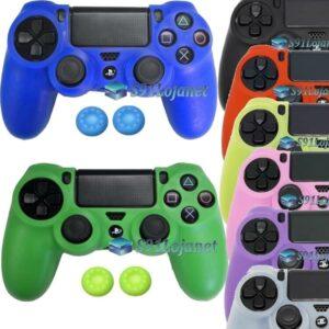 Capa Case Playstation 4 Sony PS4 Várias Cores + Grips Cores