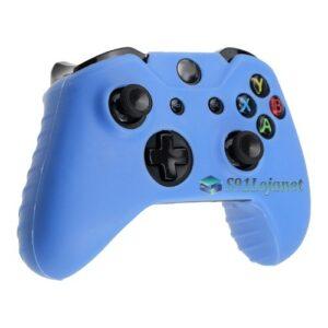 Capa Case Skin Xbox One S Microsoft Coloridas Azul