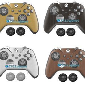 Xbox One Skin Adesivo Metálico Controle Elite Original +Grip