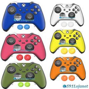 Xbox One Skin Adesivo Pele Cores Controle Elite + Par Grips