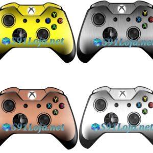 Xbox One Skin Adesivo Skin Pele Metálico Controle Original