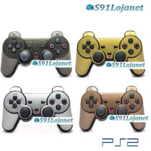 Adesivo Skin Case Capa Pele Decal Controle Ps2 Playstation 2