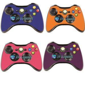Adesivo Skin Case Capa Ps4 Controle Xbox 360 Cores
