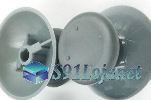 Botão Analógico 3d Controle Xbox 360 RS LS X360 Reparo Cinza
