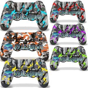 Skin Adesivo Case Capa Ps4 Camuflado  Controle Playstation 4
