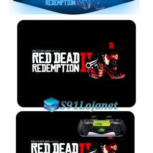 Touch Pad Ps4 Skin Adesivo Controle Red Dead Redemption D277