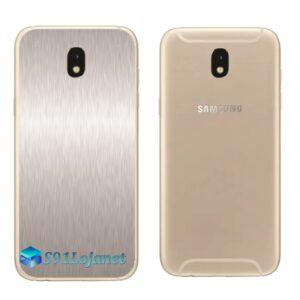 Galaxy J5 Pro Adesivo Skin Traseiro Metal Alumino