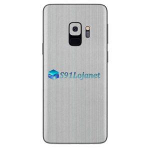 Galaxy S9 Adesivo Skin Metal Aluminio