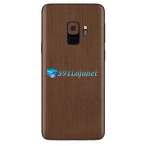 Galaxy S9 Adesivo Skin Metal Bronze