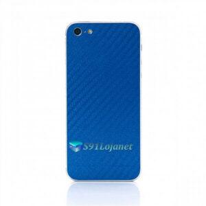 Iphone 5 5c 5s Skin Adesivo Sticker Carbono Branco