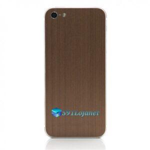 Iphone 5 5c 5s Skin Adesivo Sticker Metal Bronze