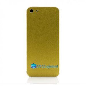 Iphone 5 5c 5s Skin Adesivo Sticker Metal Ouro Gold