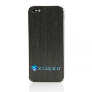 Iphone 5 5c 5s Skin Adesivo Sticker Metal Onix