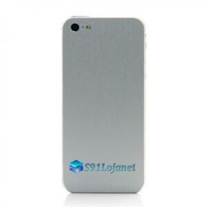 Iphone 5 5c 5s Skin Adesivo Sticker Metal Titânio