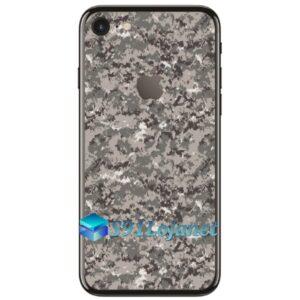 Iphone 7 7plus Skin Adesivo Sticker Camo Cinza Digi