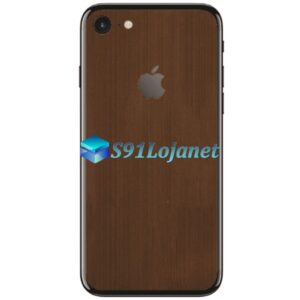Iphone 7 7plus Skin Adesivo Sticker Metal Onix Bronze