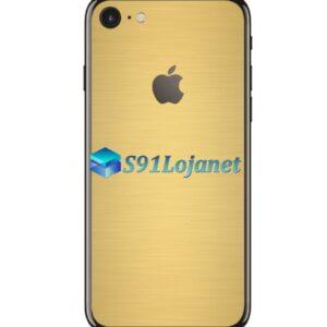 Iphone 8 8plus Skin Adesivo Sticker Metal Ouro Gold