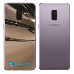 Samsung Galaxy A8 Adesivo Skin Meta Cromado