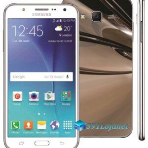Samsung Galaxy J7 Adesivo Skin Metal Cromo