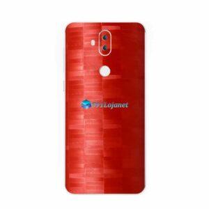ASUS ZenFone 5 Selfie Pro Adesivo Skin FX Pixel Vermelho