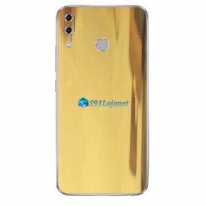 ASUS ZenFone 5Z Skin Adesivo Metal Ouro Gold