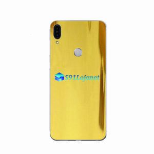 ASUS ZenFone Max (M1) Skin Adesivo Metal Ouro Gold