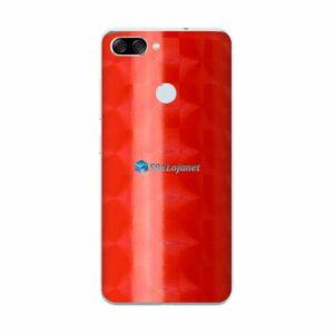 ASUS ZenFone Max Plus (M1) Adesivo Skin FX Dimension Red