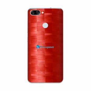 ASUS ZenFone Max Plus (M1) Adesivo Skin FX Pixel Vermelho