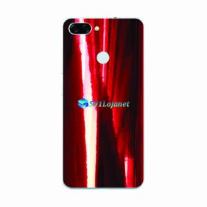 ASUS ZenFone Max Plus (M1) Adesivo Skin Metal Gold Red