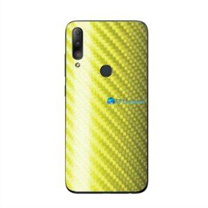 ASUS ZenFone Max Plus (M2) Skin Adesivo Carbono Amarelo
