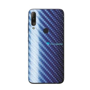 ASUS ZenFone Max Plus (M2) Skin Adesivo Carbono Azul