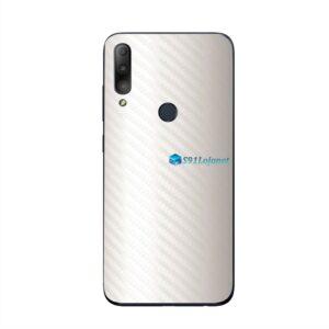 ASUS ZenFone Max Plus (M2) Skin Adesivo Carbono Branco