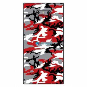 Razer Phone 2 Adesivo Traseiro Película Skin Camo Vermelho