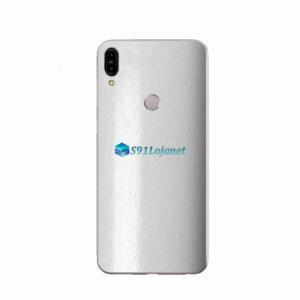 ZenFone Max Pro (M1) Skin Adesivo FX Couro Branco
