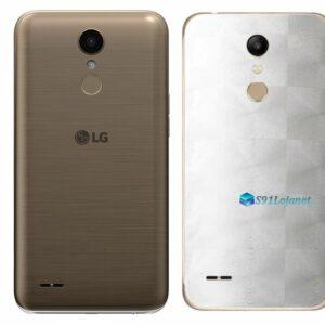 LG K10 Adesivo Traseiro Película FX Dimension Branco