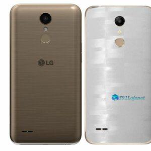 LG K10 Adesivo Traseiro Película FX Pixel Branco