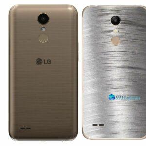 LG K10 Adesivo Traseiro Película Metal Escovado