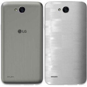 LG K10 Power Adesivo Traseiro Película FX FX Pixel Branco