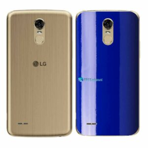 LG K10 Pro Adesivo Traseiro Película Cor Azul
