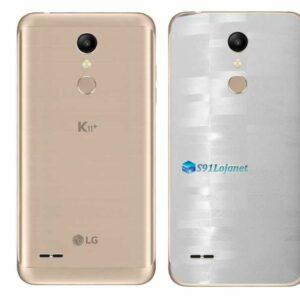 LG K11+ Adesivo Traseiro Película FX Pixel Branco