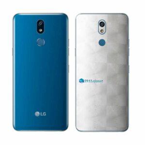 LG K12+ Adesivo Traseiro Película FX Dimension Branco