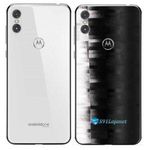 Motorola One Adesivo Traseiro Película FX Pixel Black