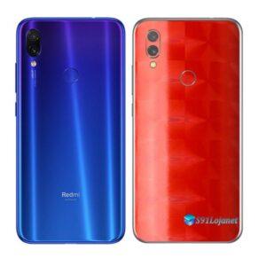 Redmi Note 7 Adesivo Skin Película FX Dimension Red
