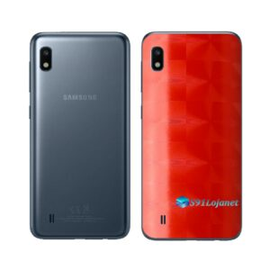 Galaxy A10 Adesivo Skin Película Tras FX Dimension Red