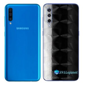 Galaxy A50 Adesivo Skin Película Tras FX Dimension Black