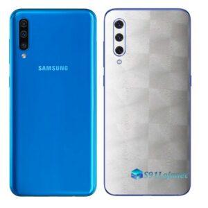 Galaxy A50 Adesivo Skin Película Tras FX Dimension Branco